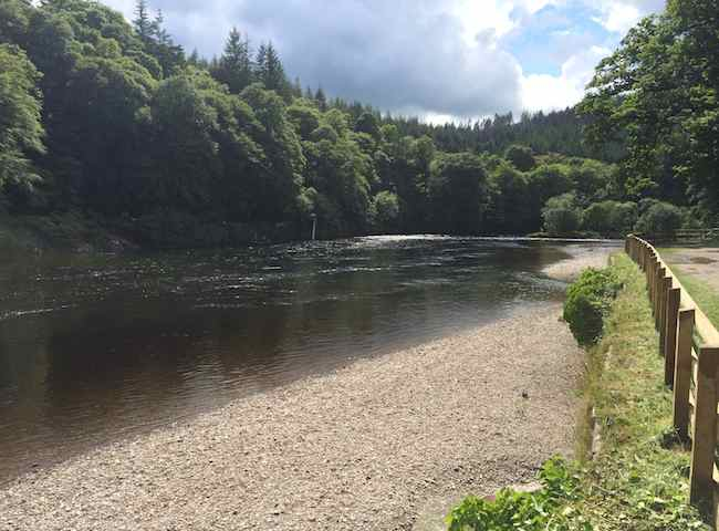 Fishing The River Tay At Dunkeld